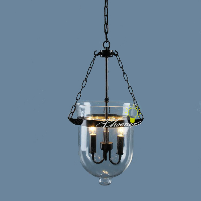 North Country Glass 3 lights Pendant Lighting 7453