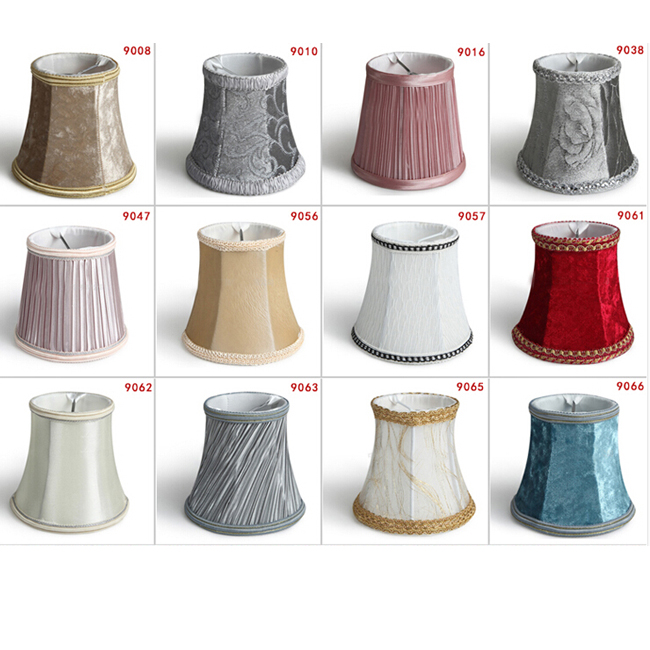 Fabric Shades for Candles Chandelier 11554