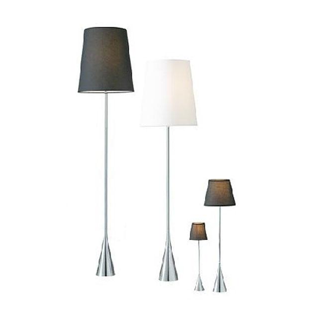 Modern Slim Metal And Fabric Shade Floor Lamp 10511 Archi Lighting