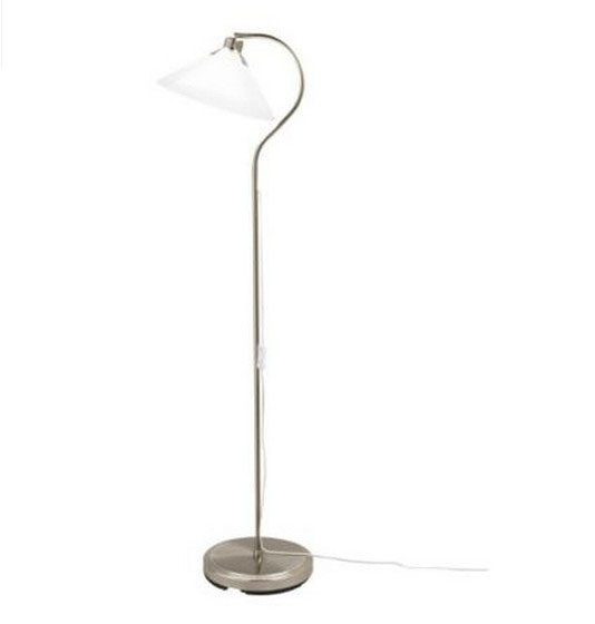 Ikea cloobi metal and white blown glass floor lamp in chrome fin ikea cloobi metal and white blown glass floor lamp in chrome fin free ship browse project lighting and modern lighting fixtures for home use free ship aloadofball Images