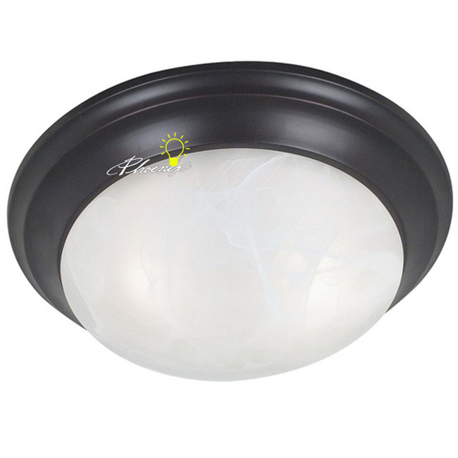 Antique Round Marble Shade Recessed Lighting 8632