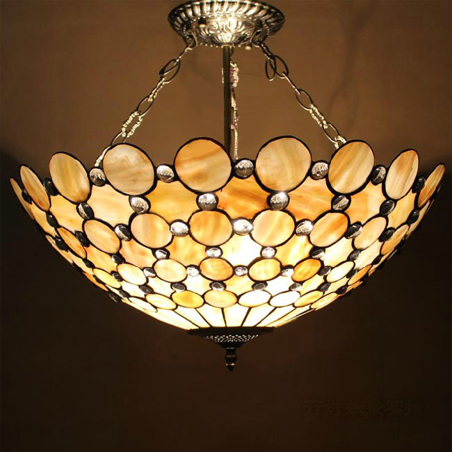 Antique Handmade Shell And Metal Recessed Lighting 104512