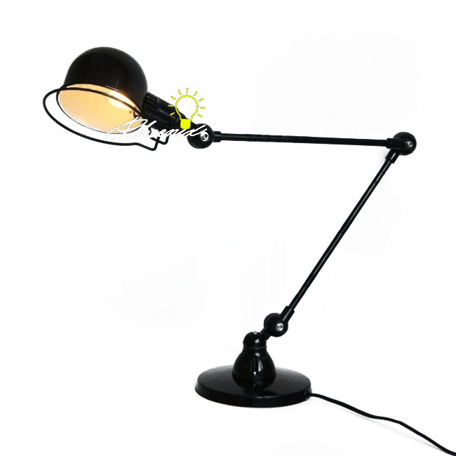 Antique Industrial Desk Lamp in Painted Finish 8098