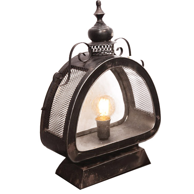 Antique Wind Wall Sconce and Lamp 9152