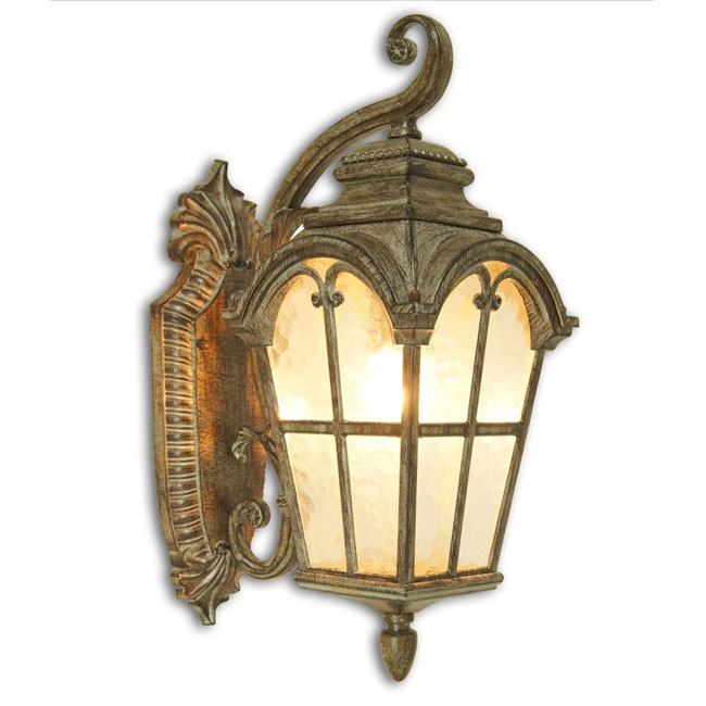 Antique 0554 Water Glass Outdoor Wall Sconce 9572