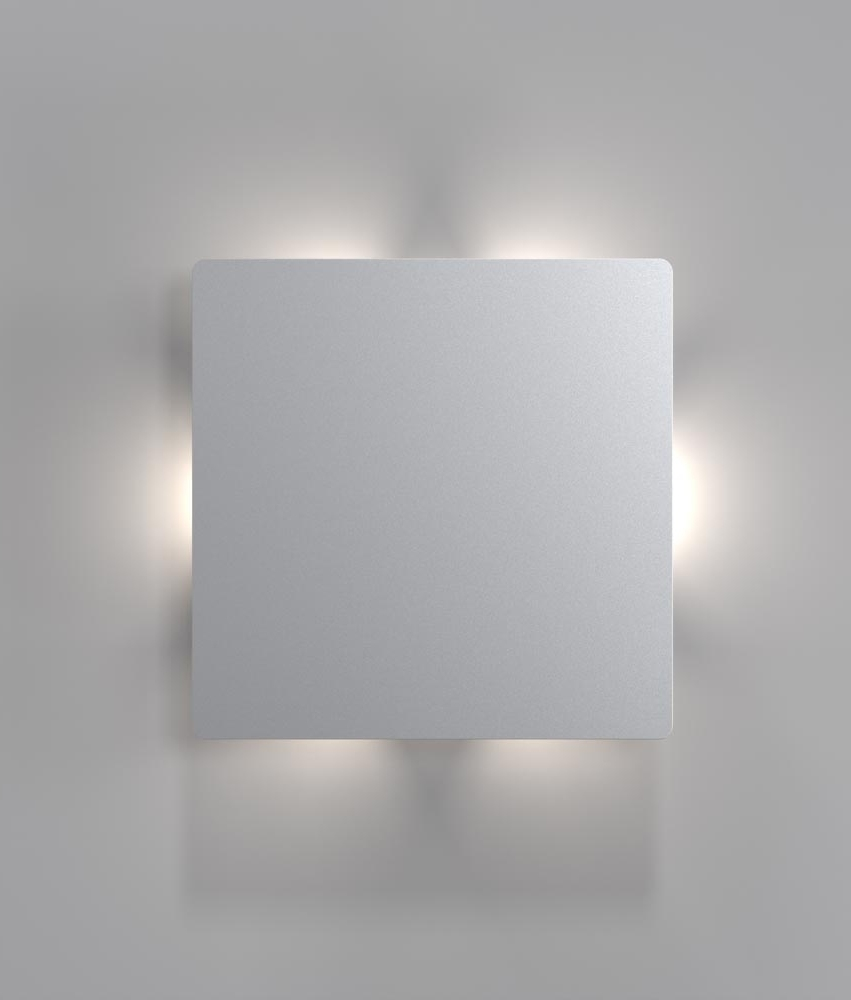 Striking square back lit led wall light 17251 free ship browse striking square back lit led wall light 17251 aloadofball Image collections